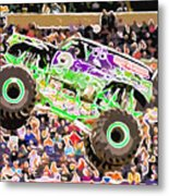 Monster Jam Orlando Fl Metal Print