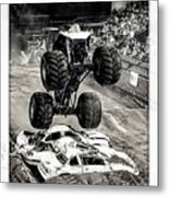 Monster Truck 1b Metal Print