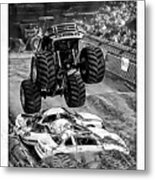 Monster Truck 2b Metal Print