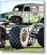 Monster Truck 4 Metal Print