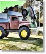 Monster Truck - Grave Digger 2 Metal Print