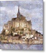 Mont Saint-michel, Normandy, France Metal Print