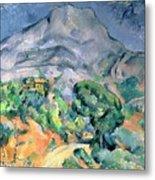 Mont Sainte Victoire Metal Print