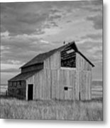 Montana Barn Memories Metal Print