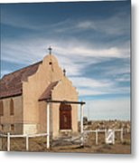 Montana Church Metal Print