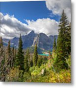 Montana-glacier National Park-grinnell Glacier Trail Metal Print