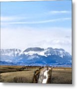 Montana Scenery one Metal Print