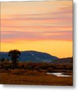 Montana Skies Metal Print