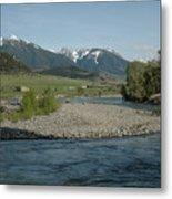 Montana Stream Metal Print