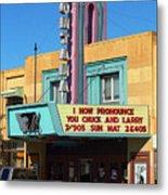 Miles City Montana - Theater Metal Print