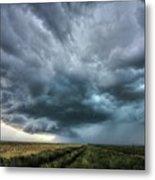 Montana Thunderstorm Metal Print