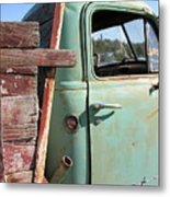 Montana Truck Metal Print