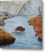 Montana Wildlife Metal Print
