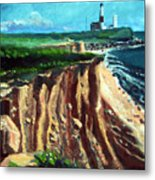 Montauk Camp Hero 04a Metal Print