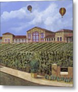 Monte De Oro And The Air Balloons Metal Print