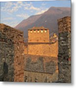 Montebello - Bellinzona, Switzerland Metal Print