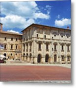 Montepulciano Piazza Grande Metal Print