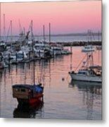 Monterey Bay Harbor Metal Print