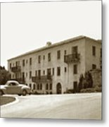 Monterey Hospital Was Built In 1930 At 576 Hartnell St, Monterey Metal Print