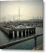 Monterey Marina Metal Print