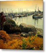 Monterey Marina Vista Metal Print