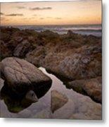 Monterey Sunset Metal Print