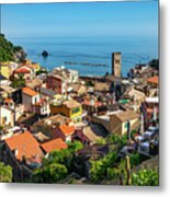 Monterosso In The Cinque Terre Metal Print