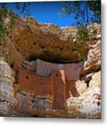 Montezuma Castle In Arizona Metal Print by Jen White