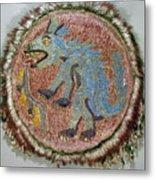 Montezuma II: Shield Metal Print