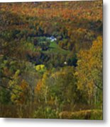 Montgomery Hillside Of Color Metal Print