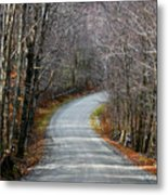 Montgomery Mountain Rd. Metal Print