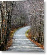 Montgomery Mountain Road Metal Print