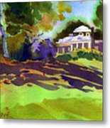 Monticello In October Metal Print