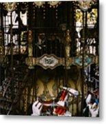 Montmartre Carousel Metal Print