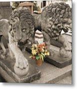 Montparnasse Cemetery Metal Print