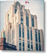 Montreal - Aldred Building Metal Print