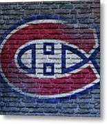 Montreal Canadiens Wall Metal Print