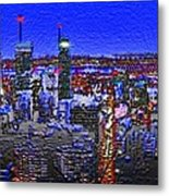 Montreal Etched Metal Print