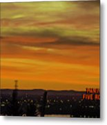 Montreal Sunrise 2 Metal Print