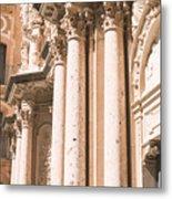 Montserrat Monastery Metal Print