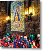 Montserrat Shrine Metal Print