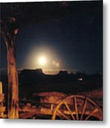 Monument Moonrise Metal Print