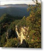 Monument Mountain Devils Pulpit Overlook Metal Print
