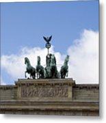 Monument On Brandenburger Tor  Metal Print