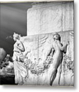 Monument Particular In Rome Metal Print