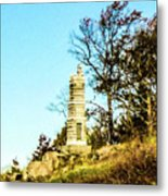 Monument To The 91st Pennsylvania  Volunteers Metal Print
