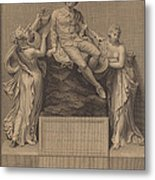 Monument To William Shakespeare Metal Print
