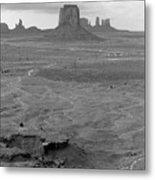 Monument Valley Afternoon Metal Print