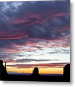 Monument Valley Morning #1 Metal Print