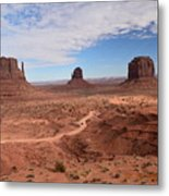 Monument Valley-one Metal Print